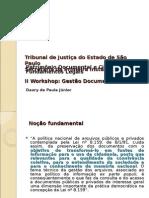 Patrimônio Documental e Cidadania - Fundamentos Legais (PowerPoint 97-2003)