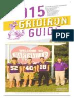 Football Gridiron Guide 2015 TC