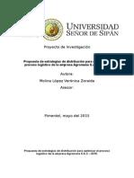 Proyecto de Tesis-Propuesta de Estrategias de Distribución Para Optimizar El Proceso Logístico