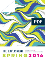 The Experiment Spring 2016 Catalog