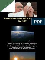 Enseñanzas del Papa Francisco - Nº 117