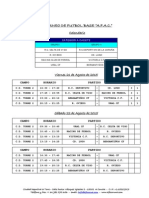 Resultados Torneo Futbol Base Afac Jornada Viernes 21 Agosto