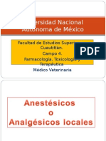 Anestesicos veterinarios