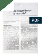 Baddeley Por Qué Necesitamos La Memoria