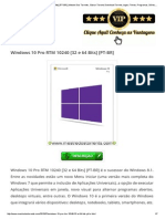 Windows 10 Pro RTM 10240 [32 e 64 Bits] [PT-BR] _ Mestre Dos Torrents , Baixar Torrent, Download Torrent, Jogos, Filmes, Programas, Séries, Grátis