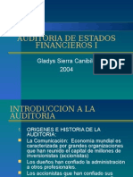 Auditoria de Estados Financieros i