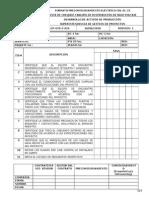 Ecp-gtd-f-024 Chl-el-23 Lista de Chequeo Tablero de Distribucion de Bajo Voltaje