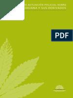 Protocolo de Actuación sobre Ley de Marihuana y sus Derivados