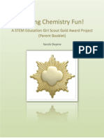 Making Chemistry Fun! A STEM Education Girl Scout Gold Award Project (Parent Booklet)