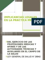 IMPLICANCIAS MEDICO LEGALES.pptx