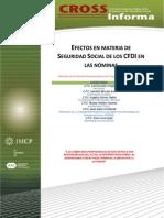 15. Efectos en Materia de Seguridad Social de Los CFDI en Las Nóminas