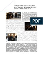 Nota de Prensa Sony Agosto 2015