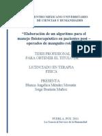 Algoritmo para pacientes post-operados de Manguito Rotador word.doc