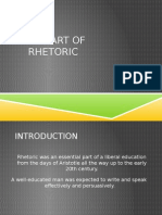 PPT_The Art of Rhetoric_Short Introduction