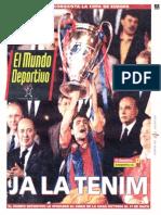 21 Mayo 1992 (Copa de Europa)