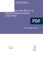 Lucien Febvre Marc Bloch e as Ciencias Historicas Alemas 2012 1-Libre