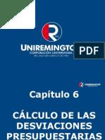 CáLculo de Las Desviaciones Presupuestarias-Cap 6