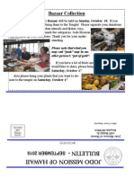Jodo Mission of Hawaii Bulletin - September 2015