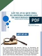Presentacion Ley 87-01