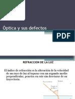 Óptica y Sus Defectos