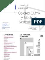 Catalogo Colores CMYK Medidas 2012