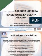 Rendicion de Cuentas 2014 Juridica