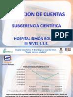 Rendicion de Cuentas 2014 Cientifica