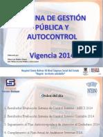 Rendicion de Cuentas 2014 OGPA