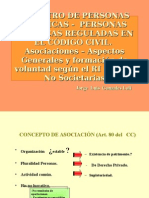 Registro de P.J.-personas J. Reguladas en El Codigo Civil