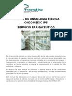 Manual Del Sf de La Unidad de Oncologia Medica Oncomedic Ips