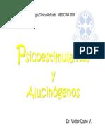 Psicoestimulantes y alucinógenos