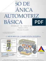 Curso de Mecánica Automotriz Básica-Ing. Israel Herrera