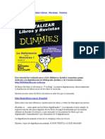 Digitalizar Libros y Revistas for Dummies