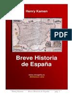 Breve Historia de España - Henry Kamen
