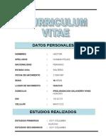 Curriculum 2014dd