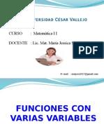 funciones con variables