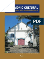 Patrimônio Cultural - Educação Para o Patrimônio Cultural - Parte 1