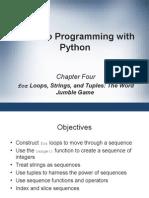 Word Jumble Game in Python