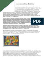 Pinturas abstractas - representan Ideas distintivas