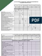 Calendario Opertaivo LM 2015-II