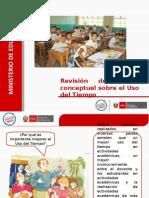 2. Marco Teorico Del Uso Del Tiempo en El Aula y La IE