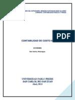 Trabajo Investigativo Costos Estandarr de Los Materiales Directos