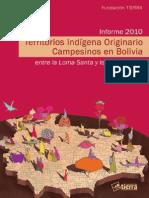 Tierras comunitarias de Origen Indigena
