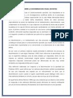 Informe Sobre La Discriminicacion Visual en Ratasvgfgfgf