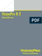 VisionPro 8.2 Quick Reference