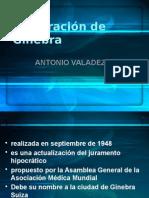 Declaración de Ginebra