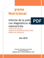 Programa Nutricional 2010