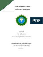 Laporan Farmasetika Dasar Praktiukm I.doc
