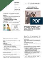 Diptico Autoestima _Escuela de Padres