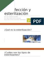 Desinfección, Esterilización y Antimicrobianos